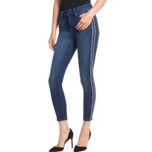 GOOD AMERICAN Athletic Stripe Jeans
